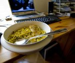 A new frontier: Desktop dining