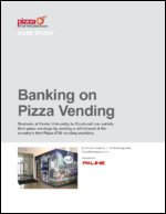 Banking on Pizza Vending