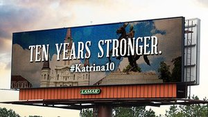 '10 Years Stronger': Digital signage remembers Hurricane Katrina