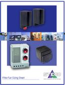 Stego Kiosk Cooling Filter Fan Sizing Worksheet