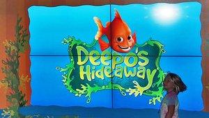 Aquarium netting new 'fish' with digital signage