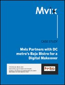 Mvix Partners with DC's Baja Bistro for a Digital Makeover