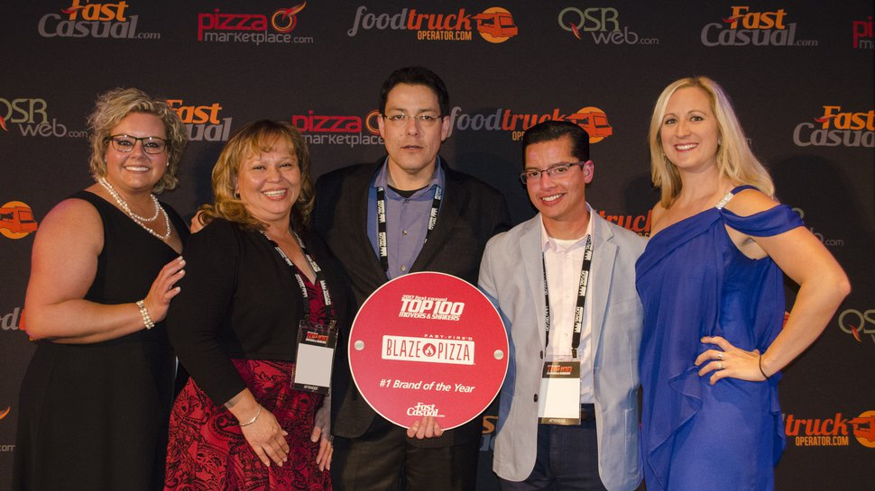 Blaze Pizza takes top honors at Fast Casual Top 100 gala