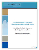 2009 Customer Experience Management Benchmark Study