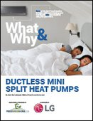 What & Why: Ductless Mini Split Heat Pumps