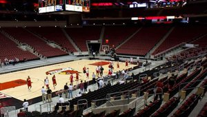 The arena will play home to the University of Louisville's men's and women's basketball teams.