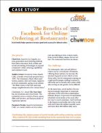 The Benefits of Facebook for Online Ordering at Restaurants