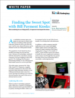 Finding the Sweet Spot with Bill Payment Kiosks