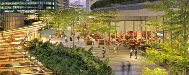China shopping mall achieves LEED platinum