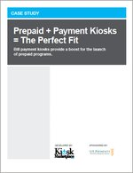 Prepaid + Payment Kiosks = The Perfect Fit