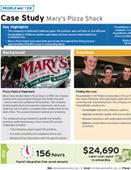Case Study: Mary's Pizza Shack
