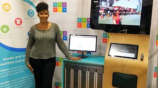 Entrepreneur develops kiosk solution for e-commerce retailers
