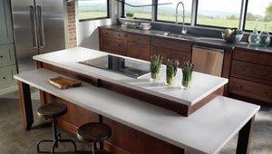 Green kitchen countertop options