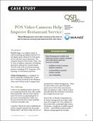 POS Video Cameras Help Improve Restaurant Service