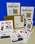 Front Flip provides business owners with marketing materials to help promote the customer loyalty platform.