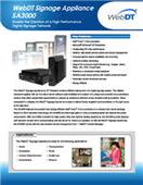 WebDT Signage Appliance SA 3000