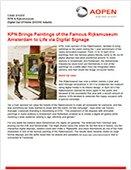 KPN Brings Paintings of the Famous Rijksmuseum Amsterdam to Life via Digital Signage