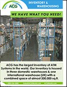ATM Inventory & Warehousing