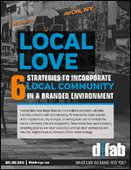 Local Love | 6 Strategies to Incorporate Local Community in a Branded Environment