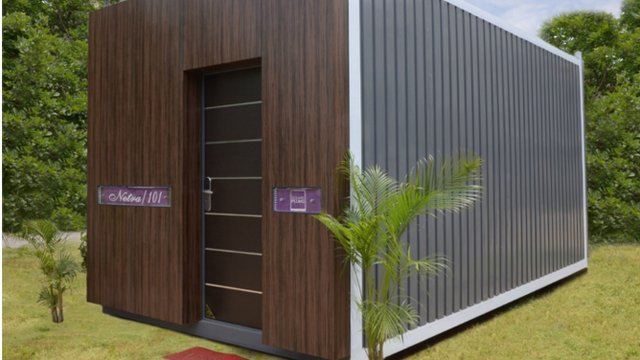 Indian Builder Launches Luxurious Co-living Homes Made of Shipping Containers