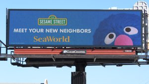 Sesame Street takes over DOOH in SeaWorld