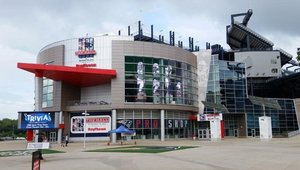 Home of the New England Patriots engaging fans with digital signage