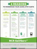 Four Reasons to Modernize your aging ATM fleets Infographic