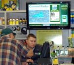 Digital signage comes to the country store