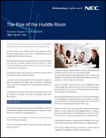 The Rise of the Huddle Room