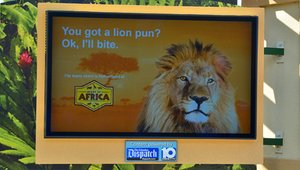 Zoos putting digital signage on display