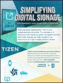 [INFOGRAPHIC] Simplifying Digital Signage with Samsung's Tizen-Based SSSP 4.0 Platform