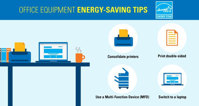 Energy Star Offers Tips For Saving Energy At Office