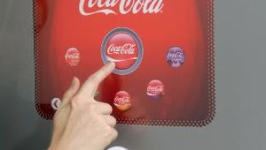 After choosing their type of Coca-Cola branded beverage, the interface then allows customers to choose among various flavors within that category, such as Coke Classic, Cherry Coke or Coke with Raspberry.
