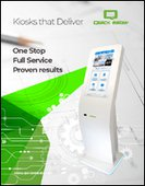 Featuring a new line of interactive self-service kiosks