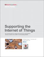 Supporting the  Internet of Things