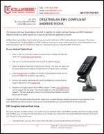 Creating an EMV compliant Android Kiosk