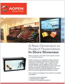 A New Dimension to Product Presentation: In-Store Showcase