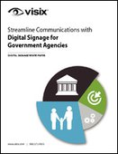 Streamline Communications with Digital Signage for Government Agencies