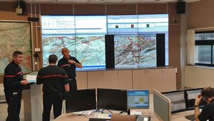 Video walls delivering command and control for fire and rescue ops