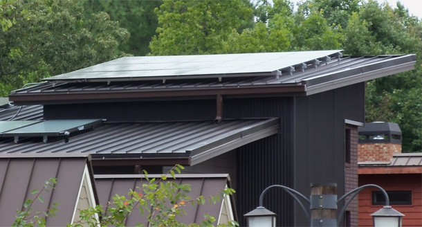 Sustainable Metal Roofing Lends Architectural Style To