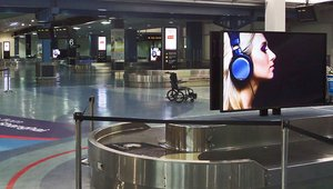 Digital signage lands at New Zealand's largest airport