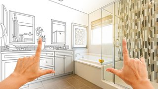 Infographic: How to save money on a bathroom remodel
