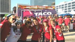With the launch of a new truck this summer, Taco Bell decided to increase its visits at events and create month-long tours. The first tour kicked off with a visit to the 2009 Major League Baseball All-Star Game in St. Louis, July 11-14.