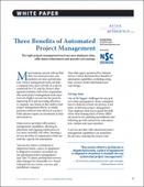 Three Benefits of Automated Project Management