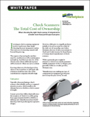 Check Scanners: The Total Cost of Ownership