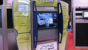 Wireless Ronin also won an award for this interactive digital signage display for auto showrooms designed to show of the features of Microsoft SYNC in Ford vehicles.