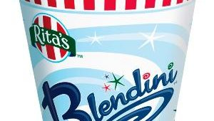 In 2007, the Blendini was added to Rita's offerings. Customers choose their favorite Italian Ice flavor, choose Frozen Custard or Slenderita (fat-free soft serve) and pick a crunch for a personalized blended frozen treat.