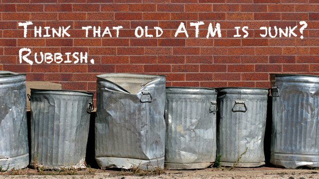4 ways to avoid tossing your old ATM