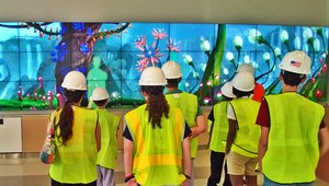 Digital signage and wonder: 50-foot video wall brings adventure to children's hospital