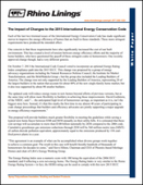 The Impact of Changes to the 2015 International Energy Conservation Code